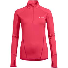 VAUDE Livigno Halfzip Langarmshirt Damen bright pink